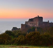 Mont Orgueil by Mark Bowden