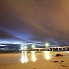 Grange Jetty: A cool windy March night by BBCsImagery