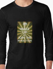 Wake Up Revolution Long Sleeve T-Shirt