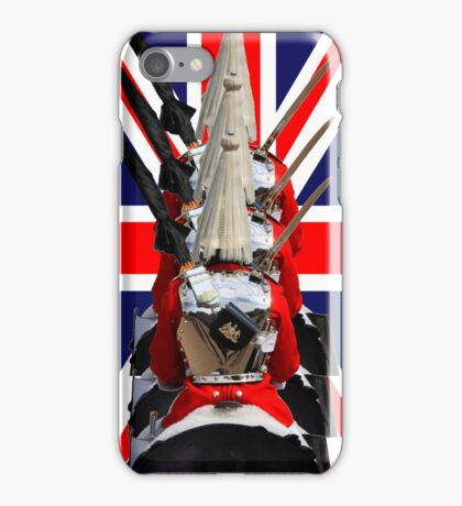 """The Queen's Guards """"Sherlocked!"""" iPhone Case/Skin"""