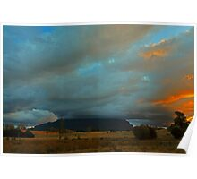 Mount Roland Sheffield Tasmania Poster