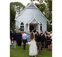 Church Wedding Photographic Print