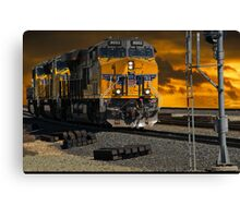 Home in the Yard Canvas Print