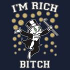 Bitcoin Rich T Shirt by NibiruHybrid