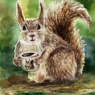 Squirrel by AnnaShell