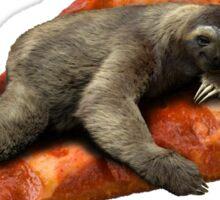 Pizza Sloth Sticker