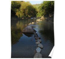 springtide at the river cuale III - rio cuale en la primavera Poster
