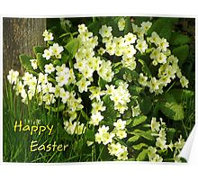 Happy Easter Wishes  Poster
