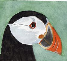 Pembrokeshire Puffin by Joanne Thomas