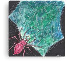The Web Sea Canvas Print