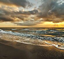 Highland Beach Sunrise by Bruce Taylor