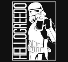 Cheers for Beers! - Stormtrooper Drinking a Beer Kids Clothes