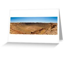 Barringer Meteor Crater Greeting Card