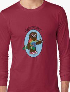 Pass The Salt - Stoner Sloth Long Sleeve T-Shirt