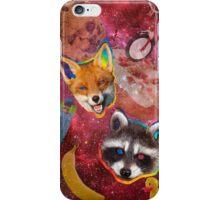 Fox & Racco iPhone Case/Skin