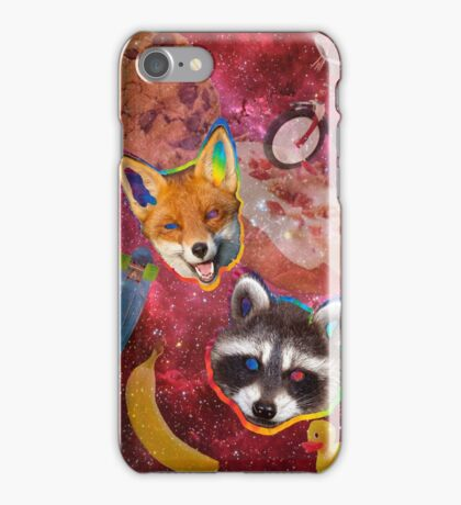 Fox & Racco iPhone Case/Skin