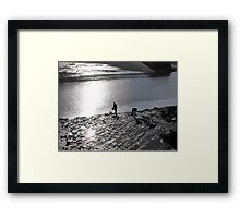 Collecting Framed Print