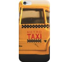 Destroyed New York Taxi iPhone Case/Skin