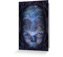 Psychedelic Muse Greeting Card