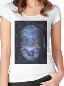 Psychedelic Muse Women's Fitted Scoop T-Shirt