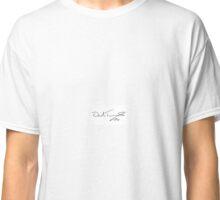 David Tennant Signature Classic T-Shirt