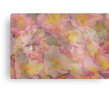 The Story of Camouflage Spring Fairies Canvas Print