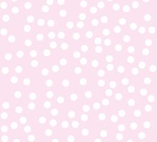 Cute Pink and White Polka Dots by itsjensworld