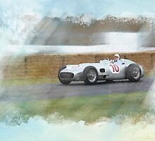 Sir Stirling Moss Mercedes W196 by Lightrace