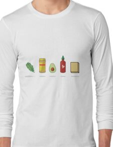 What Vegans Eat Long Sleeve T-Shirt