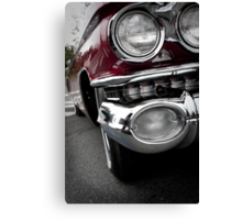 Purple Caddy Canvas Print