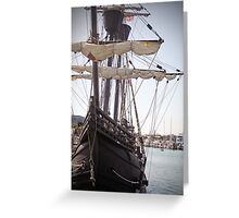"""The """"Nao Victoria""""  Greeting Card"""