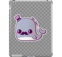 Kawaii Fancy Whale iPad Case/Skin