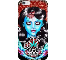 Gypsy girl candy skull case iPhone Case/Skin