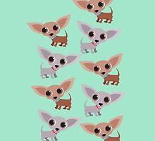 Mini Chihuahuas by BonniePortraits