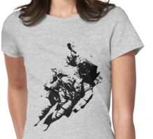 Spacesuit Womens Fitted T-Shirt