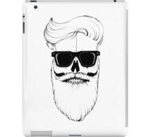 Ray's bearded skull iPad Case/Skin