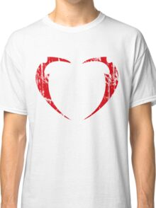 Lil' Miss Rarity Heart Brand (Red) Classic T-Shirt