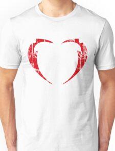 Lil' Miss Rarity Heart Brand (Red) Unisex T-Shirt