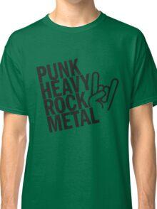 Punk Heavy Rock Metal Classic T-Shirt