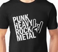 Punk Heavy Rock Metal Unisex T-Shirt