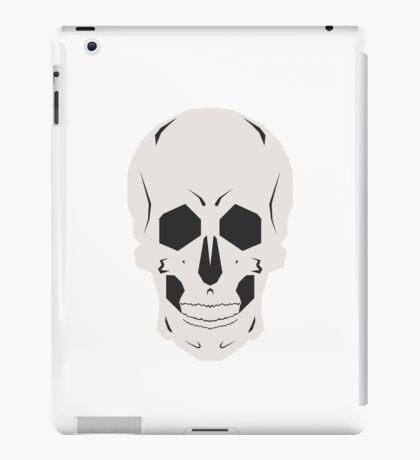 Simplistic Symmetrical Skull Design iPad Case/Skin