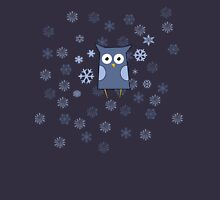 Snow Owl Womens Fitted T-Shirt