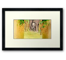 Pachyderm Protection Framed Print