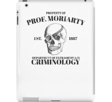 Moriarty's Department of Extraordinary Criminology iPad Case/Skin