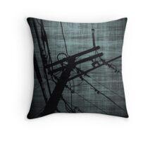 High Voltage #1 Throw Pillow