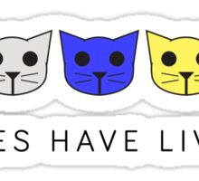 Fives Have Lives - Level 5 MeowMeowBeenz Sticker