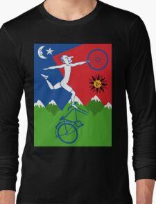 Hoffman Flips Out Bikeride LSD Acid Psychedelic Long Sleeve T-Shirt