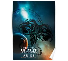Aries- Independent, Creative and Headstrong Poster