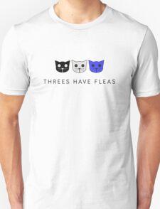 Threes Have Fleas - Level 3 MeowMeowBeenz Unisex T-Shirt