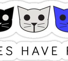 Threes Have Fleas - Level 3 MeowMeowBeenz Sticker